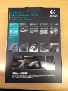 logicool-g700パッケージ